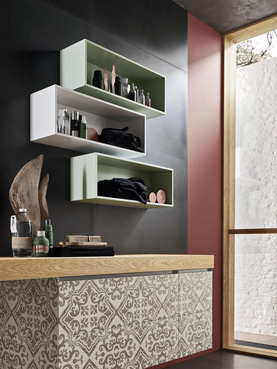 Arredo bagno componibile magnetica 04 mobili bagno for Riviste arredo bagno