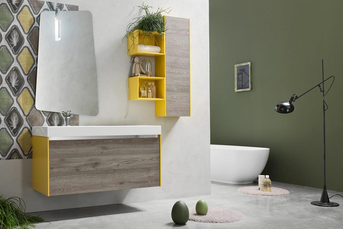 Bagno lavanderia salvaspazio mobili bagno design for Mobili bagno design outlet