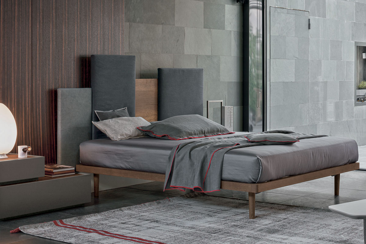 Letto skyline casastore salerno for Camera letto design