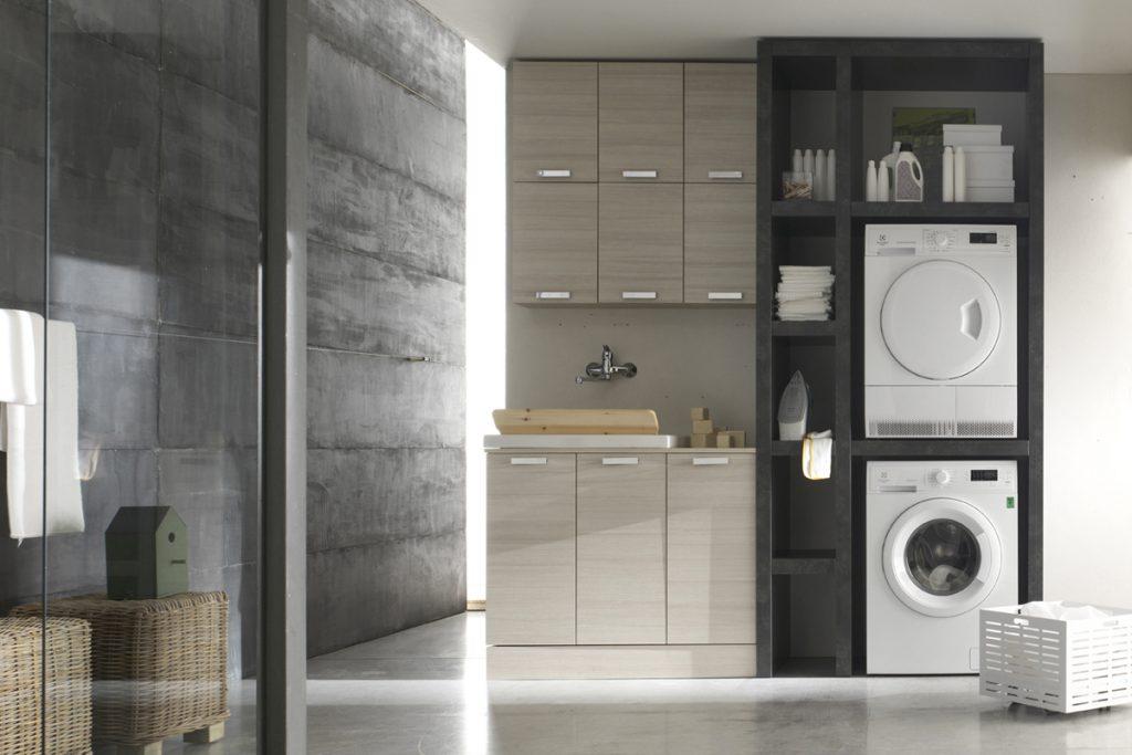 Arredo Bagno Compatto : Bagno lavanderia salvaspazio mobili bagno design casastore salerno
