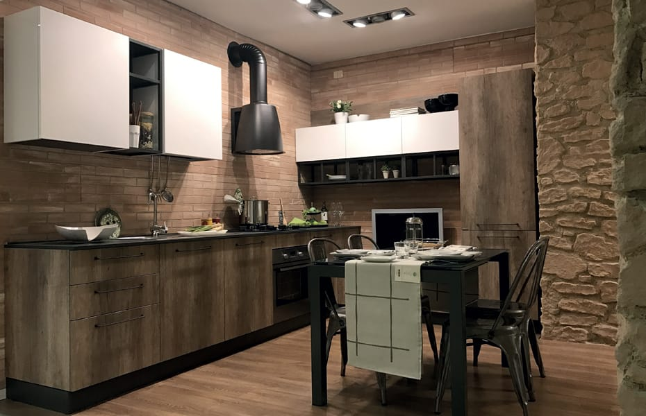 Like or love promo speciale cucine industrial shabby for Cucina stile industriale