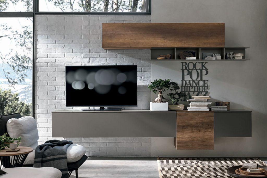 Parete Attrezzata Pensili Befree Fs72 : Pareti soggiorno attrezzate best idee arredo parete