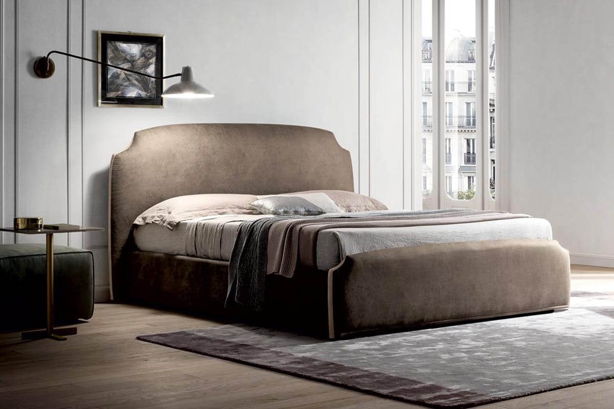 Letto demy forme classiche e stile contemporaneo casastore for Camere da letto matrimoniali contemporanee