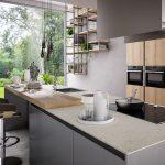 Cucina-con-isola-colonne-e-piano-snack-rovere-biondo-CU-ZS-02-CasaStore-Salerno-3