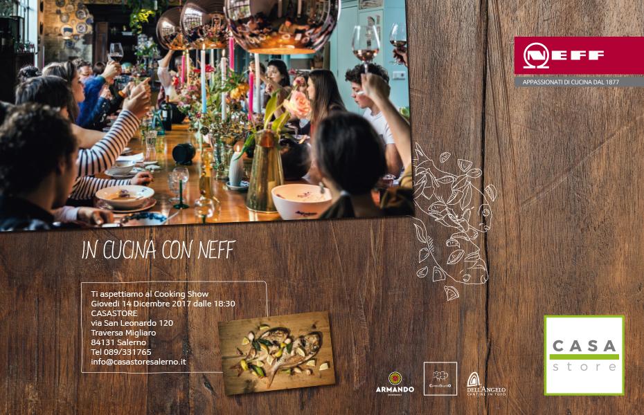 In Cucina con NEFF - CasaStore Salerno 14 Dicembre 2017