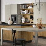 Dettaglio-Cucina-stile-vintage-con-isola-tavolo-integrato-CasaStore-Salerno-1