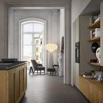 Dettaglio-Cucina-stile-vintage-con-isola-tavolo-integrato-CasaStore-Salerno-2