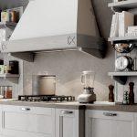Cucina-Shabby-Chic-con-isola-legno-bianco-CasaStore-Salerno-3