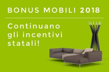 Bonus Mobili 2018: guida alla detrazione fiscale del 50% sull'acquisto di arredi ed elettrodomestici. CasaStore Salerno