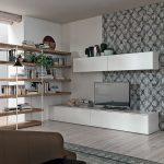 Dettaglio-Parete-Attrezzata-con-Libreria-Angolare-A076-Tomasella-Salerno