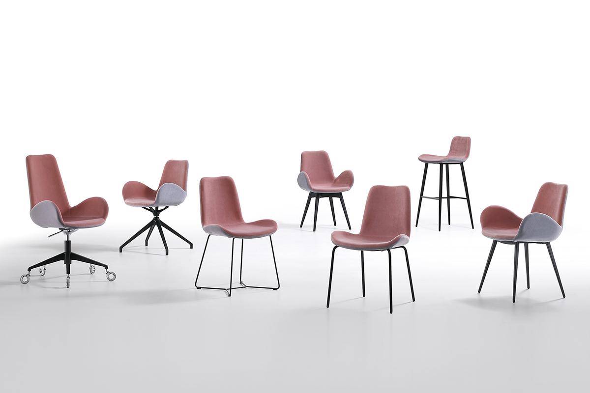 DALIA by Midj - Sedie e Poltroncine dal design Moderno in vendita da CasaStore Salerno