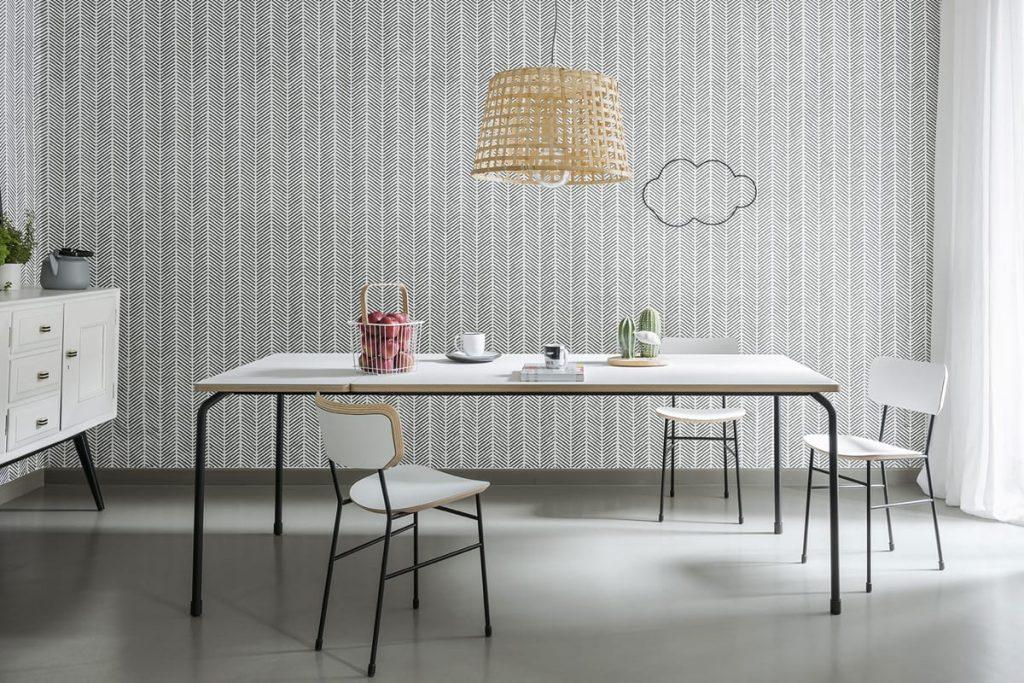 Tavolo da pranzo in stile vintage con piano in Fenix: tradizione e innovazione per il modello Master by Midj.