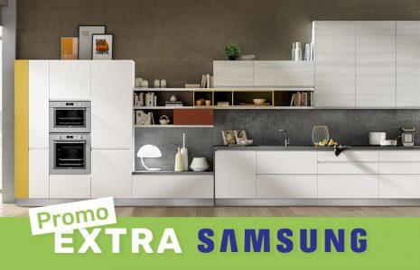 Acquista una cucina e scegli tra lavatrice o asciugatrice Samsung in omaggio