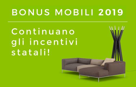 Bonus Mobili 2019: guida alla detrazione fiscale del 50% sull'acquisto di arredi ed elettrodomestici. CasaStore Salerno