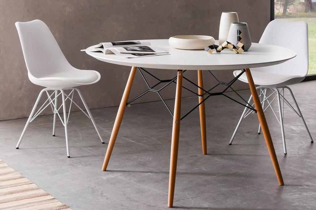 Tavolo rotondo dal design moderno: Noemi Arredo 3 - Tavoli e Sedie di design Salerno - CasaStore Arredamenti