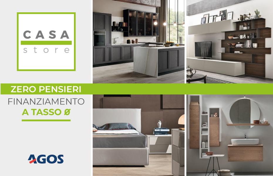 Promozione ZERO PENSIERI - Finanziamento per acquisto arredamenti a tasso 0 - Arredamenti CasaStore Salerno