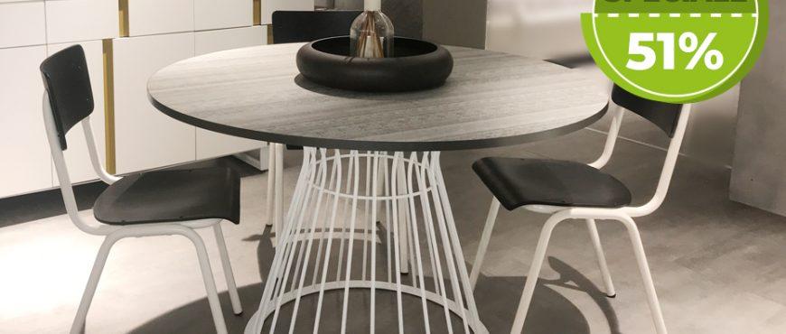 Offerta-Tavolo-Brigitte-Tomasella-Sconto-50-Rinnovo-Esposizione-Arredamenti-CasaStore-Salerno