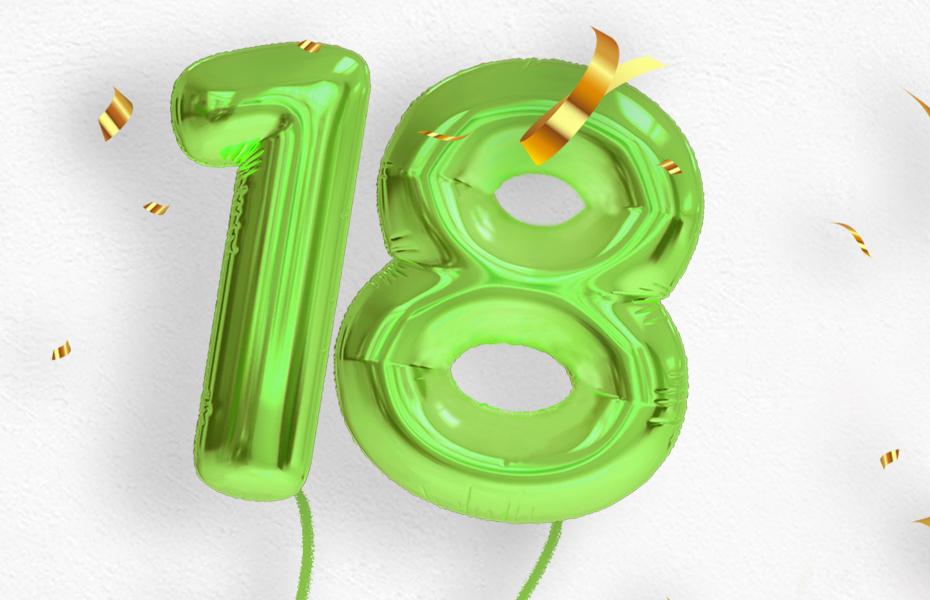 Promozione 18 anni di CasaStore: Extra Sconto 18% Arredamento