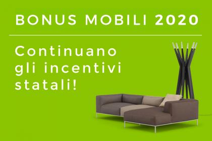 Bonus Mobili 2020: guida alla detrazione fiscale del 50% sull'acquisto di arredi ed elettrodomestici. CasaStore Arredamenti Salerno