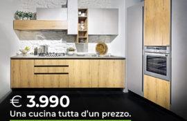 Una Cucina Tutta d'un prezzo-Offerta Cucine CasaStore Arredamenti Salerno