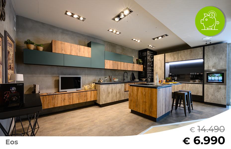 Cucina-con-isola-e-living-coordinato-EOS-Sconto-50%-per-rinnovo-esposizione-CasaStore-Arredamenti-Salerno