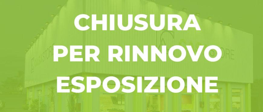 Chiusura per ristrutturazione e rinnovo esposizione CasaStore Arredamenti Salerno